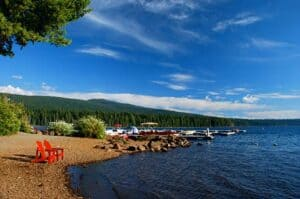 Outdoor activities at Lake of the Woods Ashland Oregon